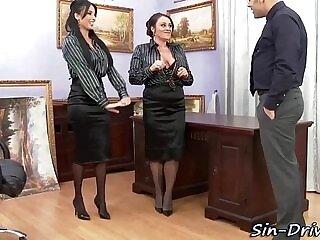 babe-cum-office-rimming