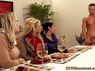 cfnm-cock-cum-cum in mouth-mouth-sharing