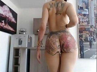 ass-girl-nipples-piercing-spanking-tattoo