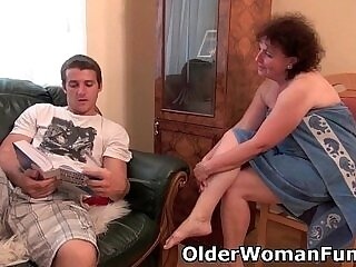 chubby-couch-drilling-grandma-granny