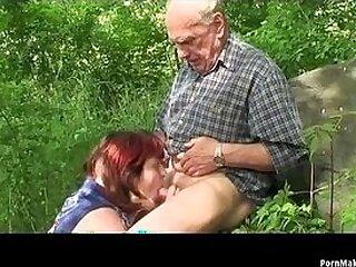 fuck-grandpa-granny-outdoor
