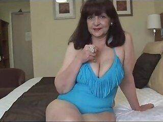 balls-big tits-fitness-lady-mature-older woman