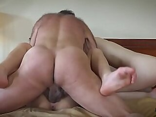 3some-ass-ass fucking-blowjob-cum-cum swallow